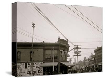 El Paso Street, El Paso, Texas--Stretched Canvas Print