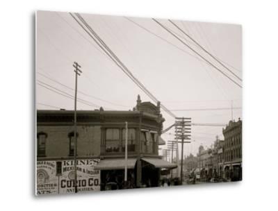 El Paso Street, El Paso, Texas--Metal Print
