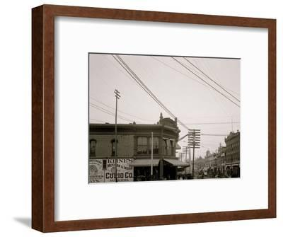 El Paso Street, El Paso, Texas--Framed Photo