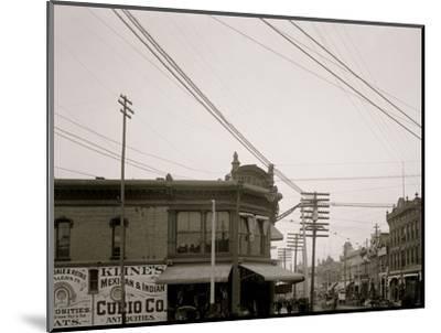 El Paso Street, El Paso, Texas--Mounted Photo