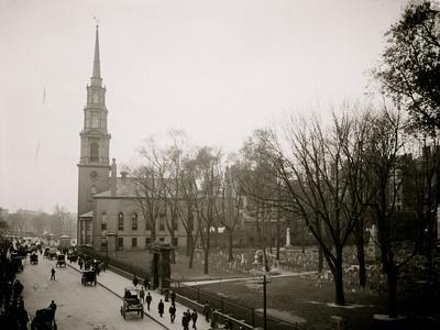 Granary and Park Street Church--Framed Photo