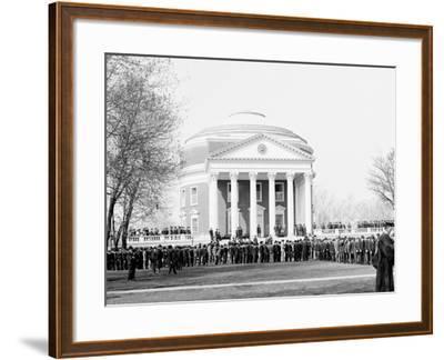 Inauguration Day, University of Virginia--Framed Photo