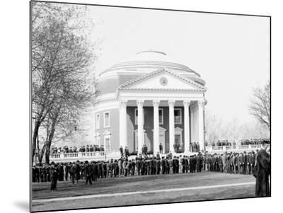 Inauguration Day, University of Virginia--Mounted Photo