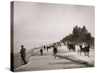 Lake Shore Drive, Lincoln Park, Chicago, Ill.--Stretched Canvas Print