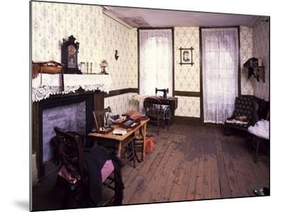 Tenement Museum-Carol Highsmith-Mounted Photo