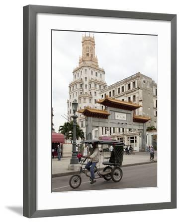 The Paifang (Archway) to Chinatown-Carol Highsmith-Framed Photo