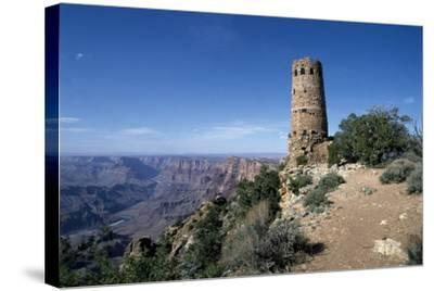 Desert View Watchtower, South Rim - Grand Canyon-Carol Highsmith-Stretched Canvas Print