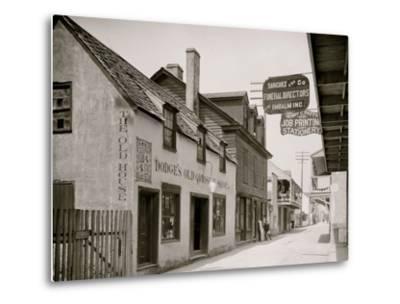 Dodges Old Curiosity Shop, St. George Street, St. Augustine, Fla.--Metal Print