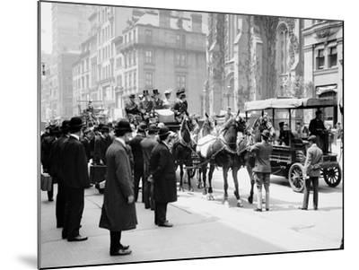 The Belmont Coach, New York--Mounted Photo