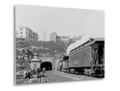 Bergen Tunnel, N.J., East--Metal Print
