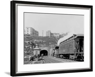 Bergen Tunnel, N.J., East--Framed Photo