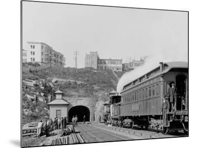 Bergen Tunnel, N.J., East--Mounted Photo