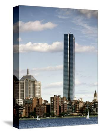 Charles River Cityscape-Carol Highsmith-Stretched Canvas Print