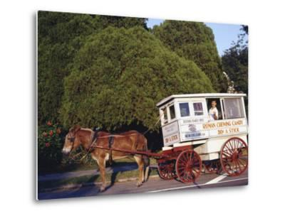 Roman Chewing Candy Cart-Carol Highsmith-Metal Print