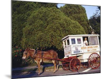 Roman Chewing Candy Cart-Carol Highsmith-Mounted Photo