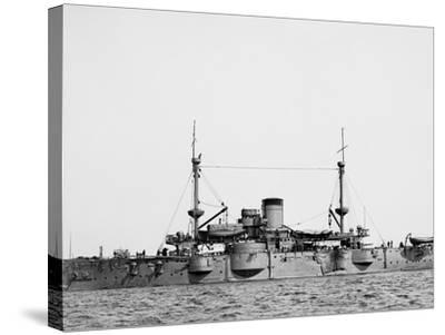 U.S.S. Texas--Stretched Canvas Print