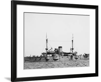 U.S.S. Texas--Framed Photo