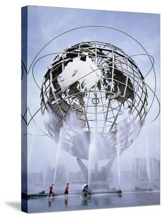 Unisphere at the 1964 World's Fair-Carol Highsmith-Stretched Canvas Print