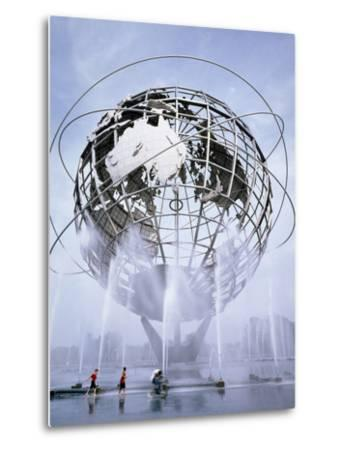 Unisphere at the 1964 World's Fair-Carol Highsmith-Metal Print