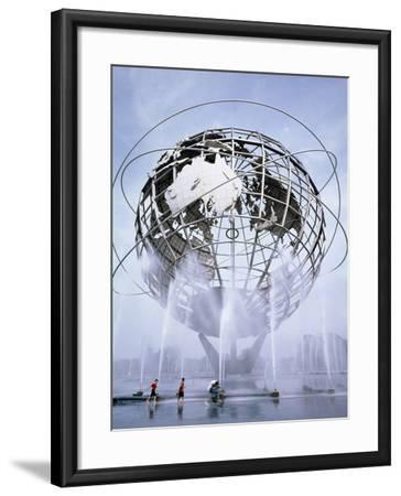 Unisphere at the 1964 World's Fair-Carol Highsmith-Framed Photo