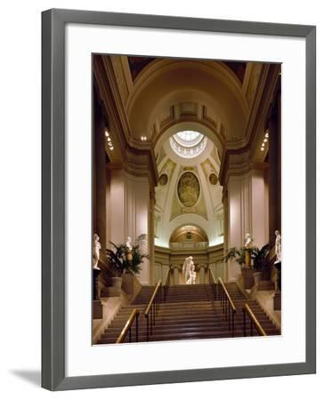 Interior View of Museum of Fine Arts-Carol Highsmith-Framed Photo