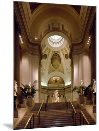 Interior View of Museum of Fine Arts-Carol Highsmith-Mounted Photo