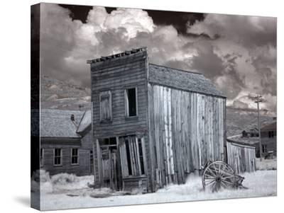 Bodie Is a Ghost Town-Carol Highsmith-Stretched Canvas Print