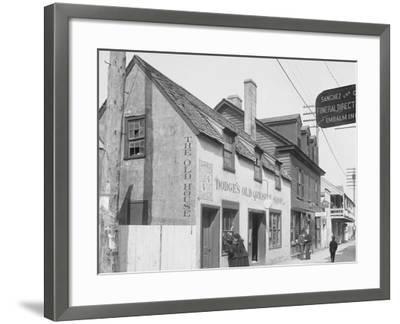 Old Curiosity Shop, St. Augustine, Fla.--Framed Photo