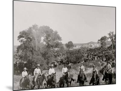 A Group of Texas Cowboys--Mounted Photo