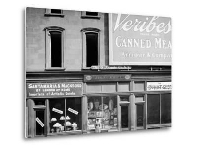 John C. Grauls Art Store, 217 Fifth Avenue, New York--Metal Print