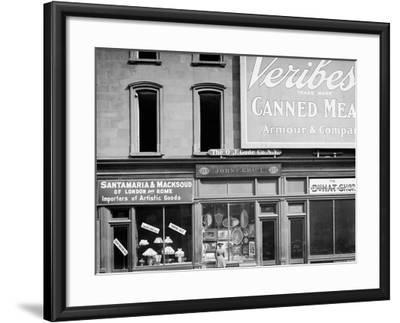 John C. Grauls Art Store, 217 Fifth Avenue, New York--Framed Photo