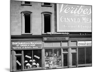 John C. Grauls Art Store, 217 Fifth Avenue, New York--Mounted Photo