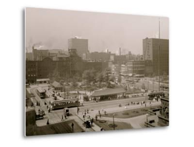 Public Square, Cleveland, Ohio--Metal Print