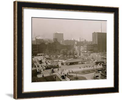Public Square, Cleveland, Ohio--Framed Photo