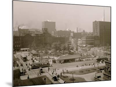 Public Square, Cleveland, Ohio--Mounted Photo