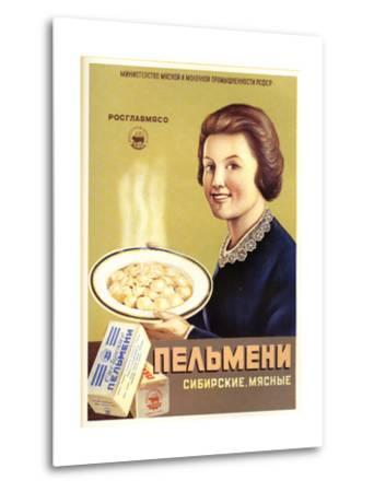 Siberian Meat - Pelmeni - Meat Stuffed in Pastry--Metal Print