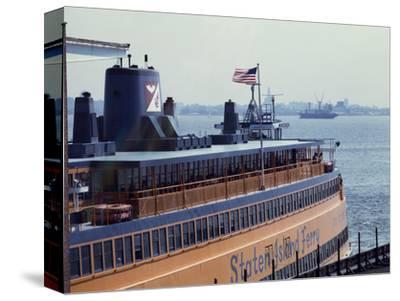 Staten Island Ferry-Carol Highsmith-Stretched Canvas Print