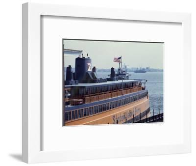 Staten Island Ferry-Carol Highsmith-Framed Photo