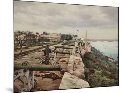 El Parapeto De La Cabana, Havana-William Henry Jackson-Mounted Photo