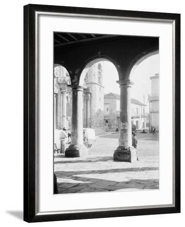 Front of Cathedral, a Bit of Old Havana, Cuba--Framed Photo