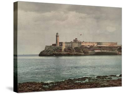 Castillo Del Morro, Havana-William Henry Jackson-Stretched Canvas Print
