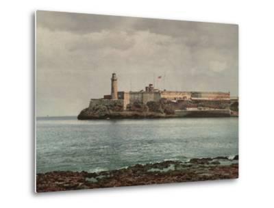 Castillo Del Morro, Havana-William Henry Jackson-Metal Print