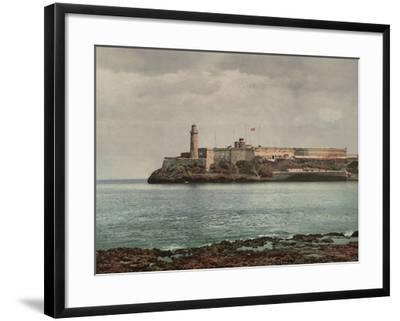Castillo Del Morro, Havana-William Henry Jackson-Framed Photo