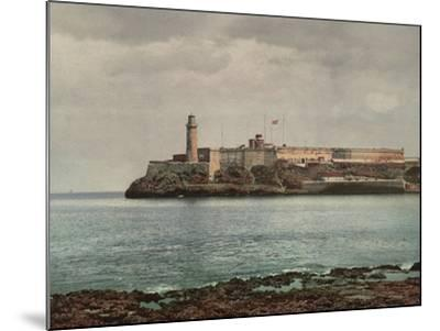 Castillo Del Morro, Havana-William Henry Jackson-Mounted Photo