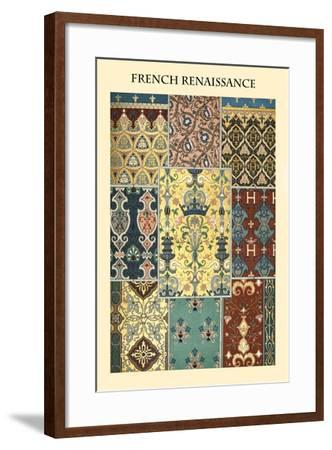 Ornament-French Renaissance-Racinet-Framed Art Print