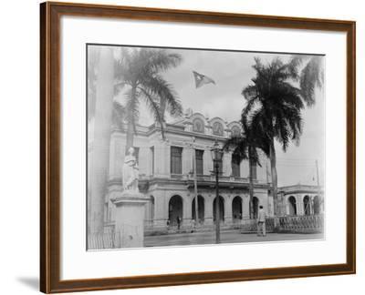 Theatre, Cienfuegos, Cuba--Framed Photo