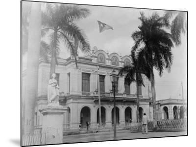 Theatre, Cienfuegos, Cuba--Mounted Photo