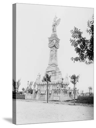 Monumento a Los Bomberos, Havana-William Henry Jackson-Stretched Canvas Print