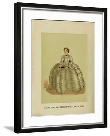 Fashion in the Period of George II-Lewis Wingfield-Framed Art Print