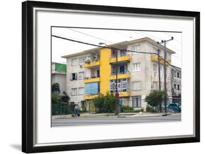 Apartment Building in the Miramar Section-Carol Highsmith-Framed Photo